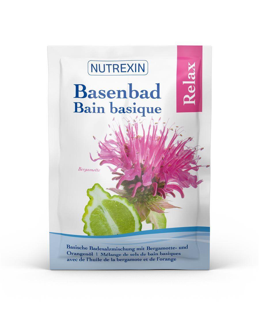 NUTREXIN Basenbad Relax Beutel  1 x 60 g
