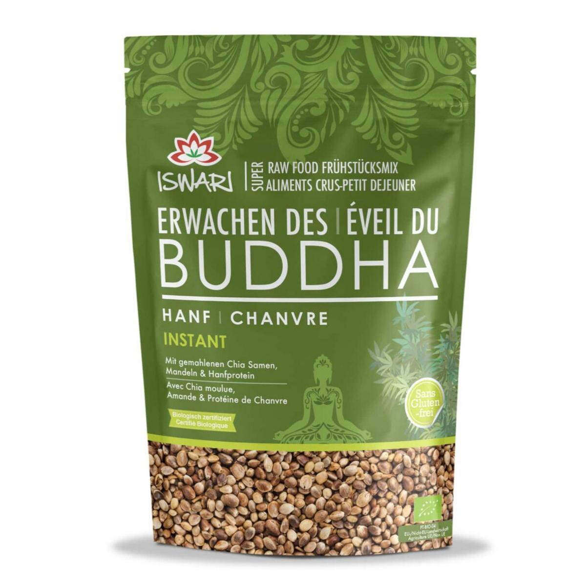 ISWARI Erwachen des Buddha Frühstücksmix - Hanf, 100% bio, 360g