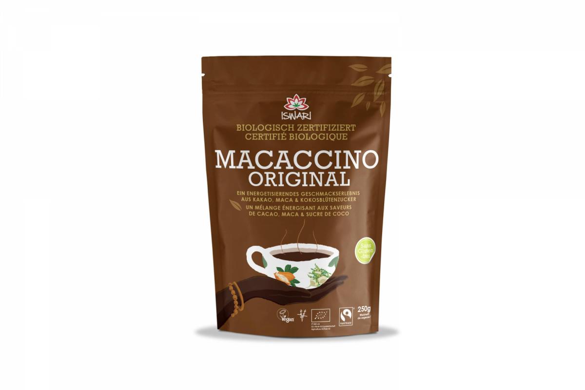 ISWARI Macaccino Original, 100% bio, 250g